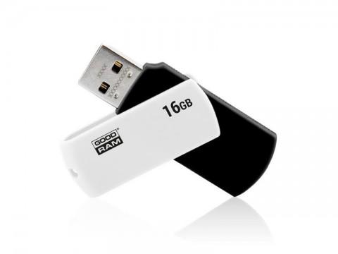 Flash disk GOODRAM USB 2.0 16GB biely a čierna