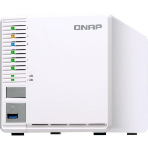 QNAP NAS Server TS-351 3xHDD 4GB