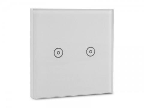 Chytrý WiFi vypínač HUTERMANN dvoutlačítkový