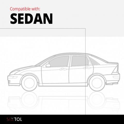 Vana do kufru gumová RENAULT/DACIA Logan (I) 2004-2015, sedan (varianta s bočními kapsami) SIXTOL