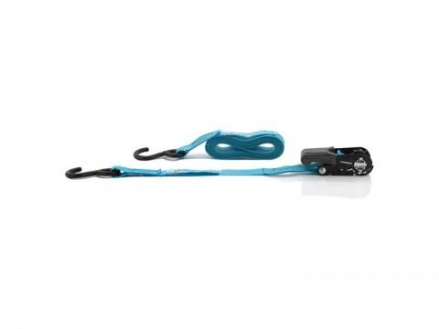 Popruh COMPASS s račňou a háky 3,5m 4ks TÜV BLUE WAY