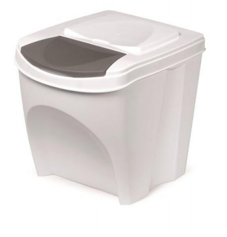 Odpadkový koš SORTIBOX bílá 392X293X335 PROSPERPLAST