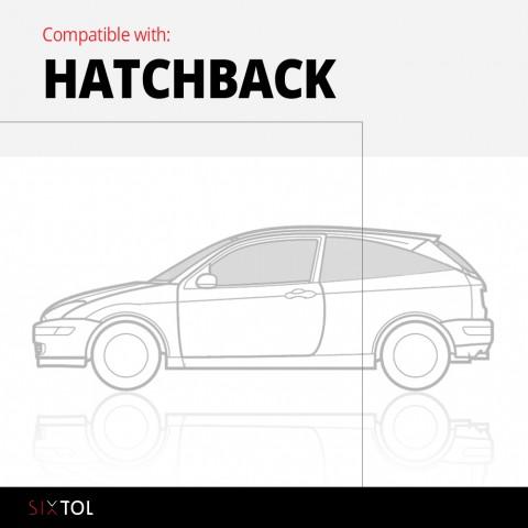 Vana do kufru gumová VW Polo V 2009->, hb., horní SIXTOL
