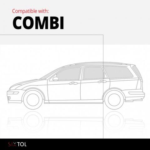 Vana do kufru gumová VW Passat B6 Variant 2005-2010, wagon. SIXTOL