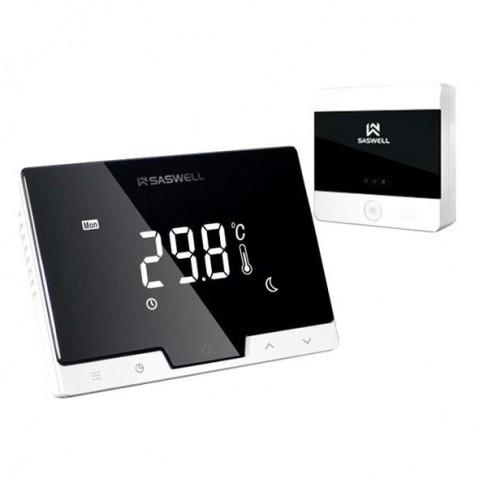 Termostat SASWELL T19 7 RF W bezdrôtový