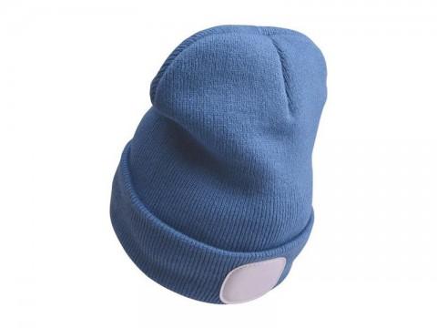 Čiapka s čelovkou EXTOL LIGHT EX43191 nabíjací, modrá