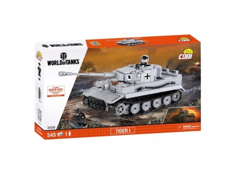 Stavebnica COBI World of Tanks Tiger I 545 k, 1 f