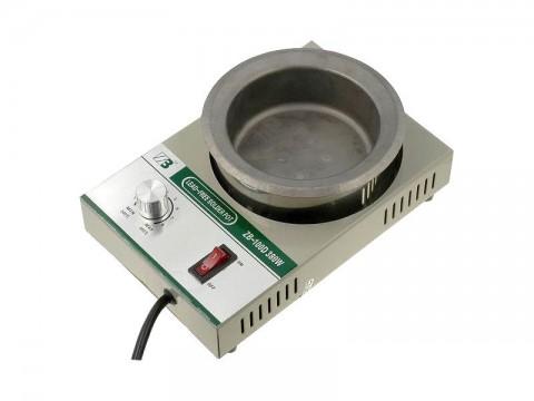 Spájkovacia kúpeľ ZB-100D pre 2,3kg spájky, 230V/380W, bezolovnaté