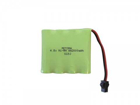 Batérie nabíjacie akupack Ni-MH 4,8V 2000mAh MOTOMA
