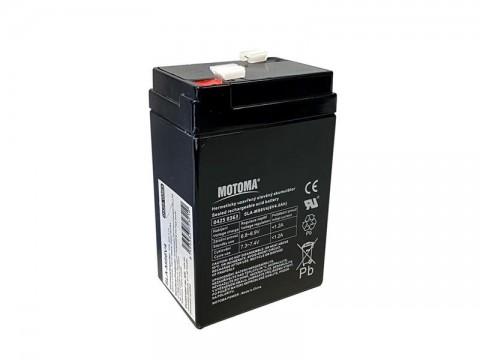 Batéria olovená   6V 4.0Ah  MOTOMA
