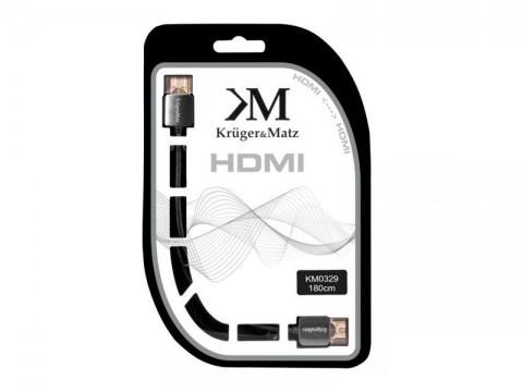 Kábel KRUGER & MATZ KM0329 HDMI 1,8m