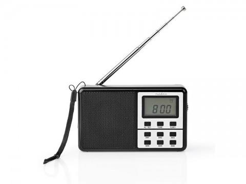 Rádio NEDIS RDWR1100BK