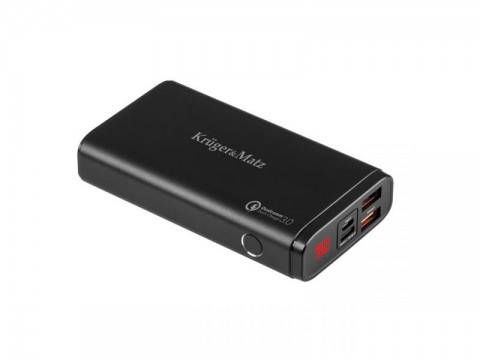 PowerBank KRUGER & MATZ KM0901QC 10000 mAh Li-pol s Quick Charge 3.0