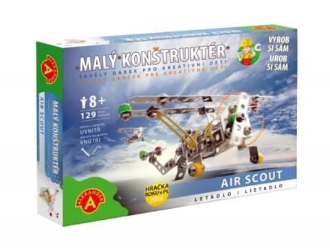Stavebnica PEXI MALÝ KONSTRUKTÉR lietadlo Air Scout