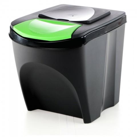 Odpadkový koš na sklo SORTIBOX antracit 392X293X335 PROSPERPLAST