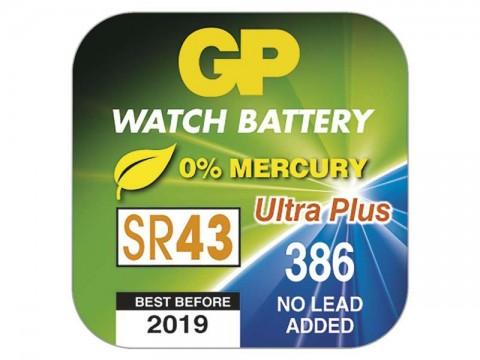 Batéria 386F GP do hodiniek