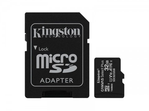 Pamäťová karta KINGSTON SDCS/32GB micro SDHC 32GB CL10 s adaptérom