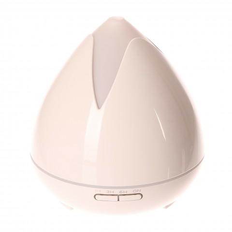 Aroma difuzér 02 400ml bílý - ultrazvukový, 7 barev LED HUTERMANN