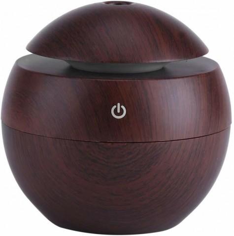 Aroma difuzér Y01 130ml tmavé dřevo - ultrazvukový, USB HUTERMANN