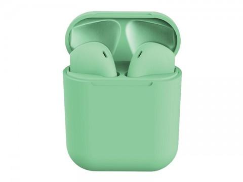 Slúchadlá Bluetooth TWS I12 zelené