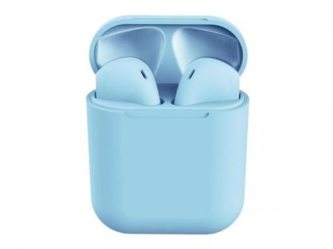 Slúchadlá Bluetooth TWS I12 modré
