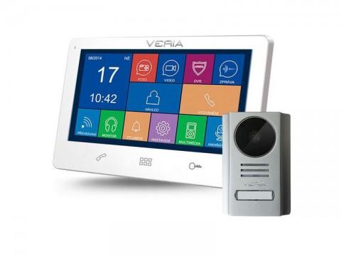 Videotelefon VERIA 7091B bílý + VERIA 229