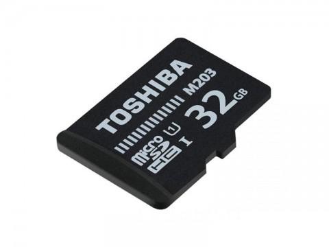 Karta paměťová TOSHIBA micro SD 32 GB s adaptérom