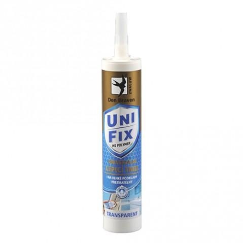 Tmel DEN BRAVEN MS UNIFIX CLEAR lepiace a tesniace 290ml