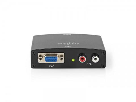 Prevodník VGA - HDMI + 2x CINCH NEDIS VCON3454AT