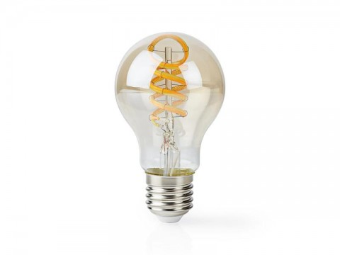 Múdra WiFi žiarovka LED E27 5.5W teplá biela NEDIS WIFILT10GDA60 SMARTLIFE