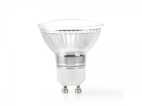 Múdra WiFi žiarovka LED GU10 4.5W teplá biela NEDIS WIFILW12CRGU10 SMARTLIFE