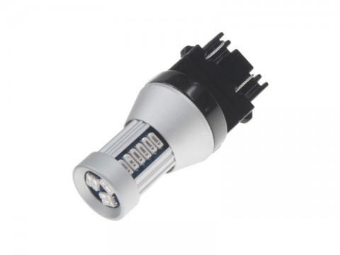 Autožiarovka LED T20 12/24V 30LED/4014SMD STU červená
