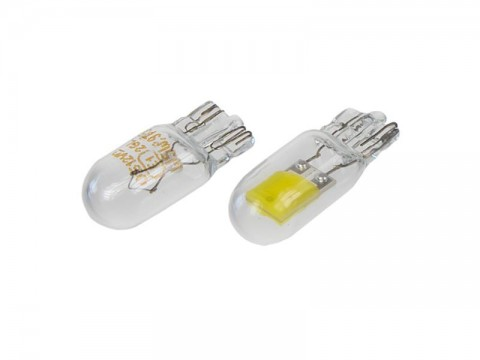 Autožiarovka LED T10 12V STU