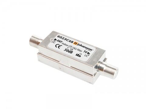 Anténny filter Johansson 6023C48, filter 5G, dolný priepust DC až 694 MHz