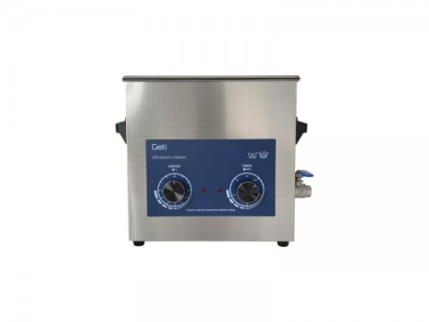 Ultrazvuková čistička Geti GUC 06A 6L nerez