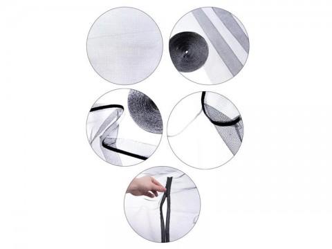Sieť proti hmyzu na strešné okno ORION 120 x 140 cm biela