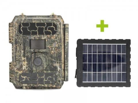 Fotopasca OXE Panther 4G + solárný panel