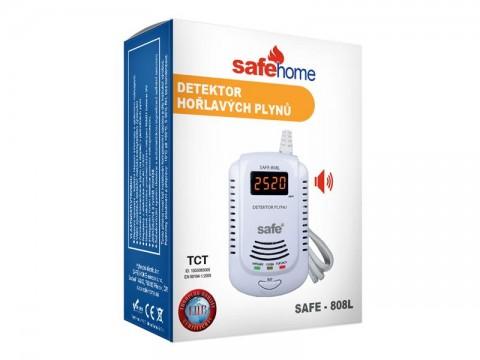 Detektor horľavých plynov SAFE 808L