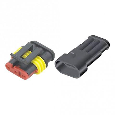 Konektor sa zdierkou DJ7031-1.5-11 + DJ7031-1.5-21 3P vodotesný