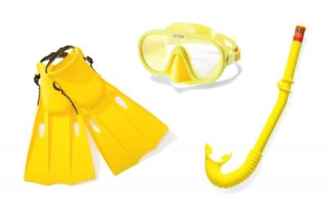 Detská sada na potápanie TEDDIES 8+ 3ks