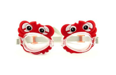 Detské plavecké okuliare TEDDIES 3-8 rokov