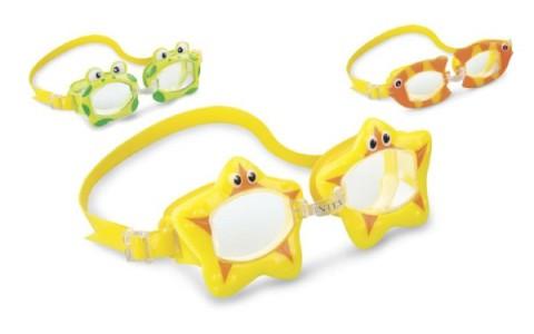 Detské plavecké okuliare TEDDIES zvieratko 3-8 rokov