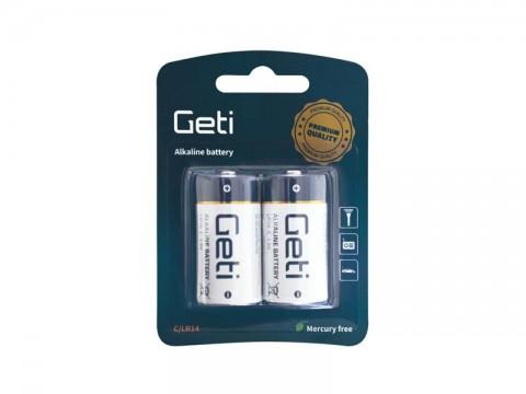 Batéria C (LR14) alkalická Geti