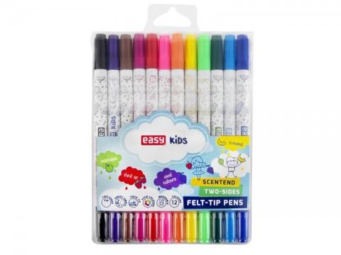 Fixky EASY obojstranné 12 farieb