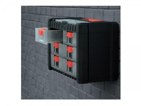 Organizér prenosný/závesný 10 priehradiek TES PPNS401-R444