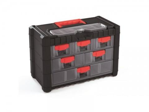 Organizér prenosný/závesný 7 priehradiek TES PPNS301-R444