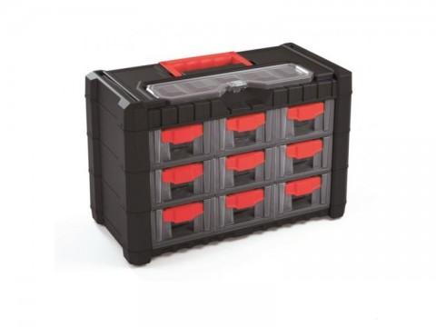 Organizér prenosný/závesný 10 priehradiek TES PPNS303-R444