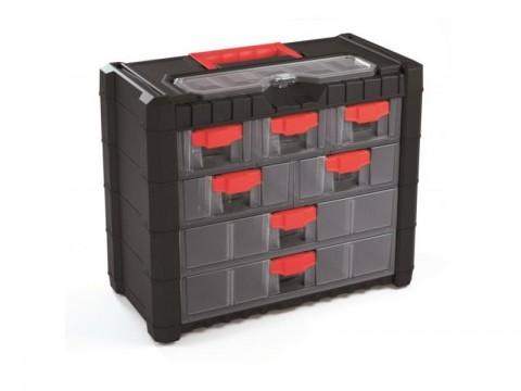 Organizér prenosný/závesný 9 priehradiek TES PPNS401-R444