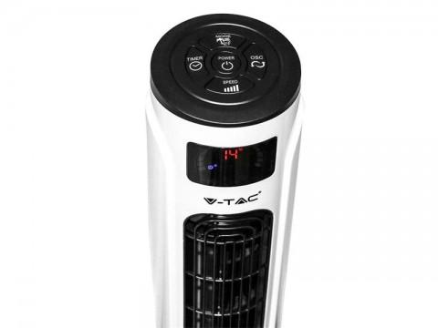 Múdrý WiFi ventilátor stĺpikový V-TAC VT-5566