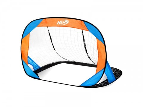 Bránka futbalová HASBRO BUCKLER NERF 2 ks modro-oranžová